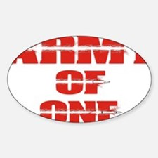 army of one  Decal
