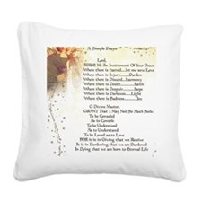 Pope Francis St. Francis SIMP Square Canvas Pillow