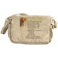 Pope Francis St. Francis SIMPLE PRAY Messenger Bag