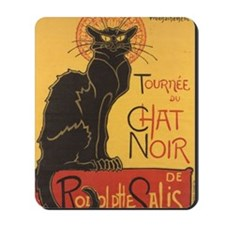 Chat Noir by Theophile Alexandre Steinle Mousepad