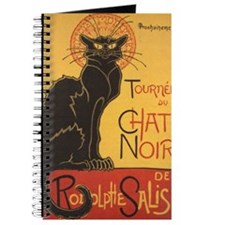 Chat Noir by Theophile Alexandre Steinlen Journal