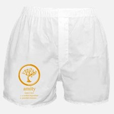 amity logo and definition Boxer Shorts