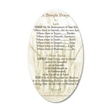 Pope Francis St. Francis SIM Wall Decal