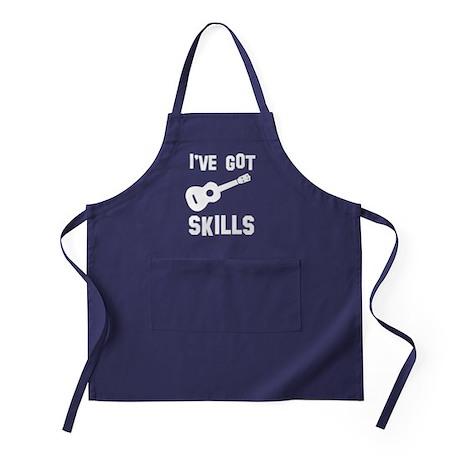 I've got Ukulele skills Apron (dark)