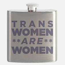 Trans Women Are Women Flask