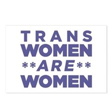Trans Women Are Women Postcards (Package of 8)