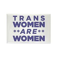 Trans Women Are Women Rectangle Magnet