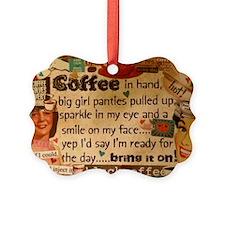 Coffee Love Picture Ornament