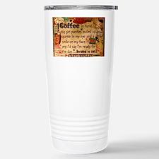 Coffee Love Stainless Steel Travel Mug
