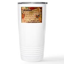 Coffee Love Thermos Mug