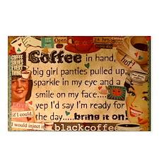 Coffee Love Postcards (Package of 8)
