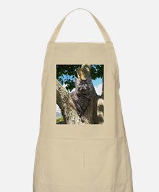 Fluffy Grey Kitten Apron