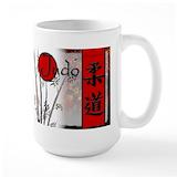 Judo Large Mugs (15 oz)