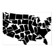 America: All Mixed Up  Postcards (Package of 8)
