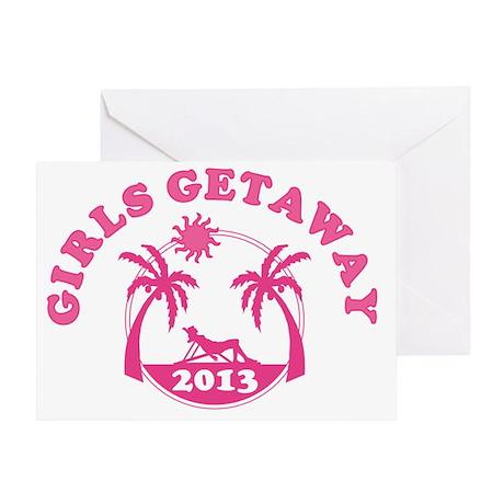 Girls Getaway Greeting Card