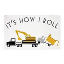 It's How I Roll 3'x5' Area Rug