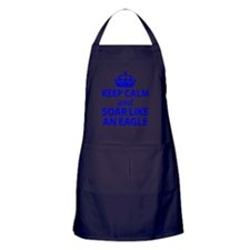 FGCU Eagles Keep Calm Apron (dark)