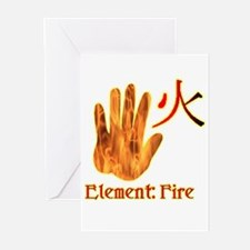 Fire Element Greeting Cards (Pk of 10)