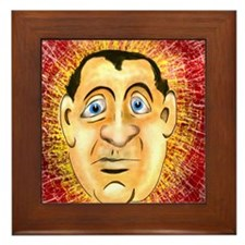 Marvin The Mindreader Framed Tile