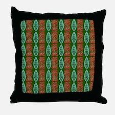 Tiki Shower Curtain Design Throw Pillow