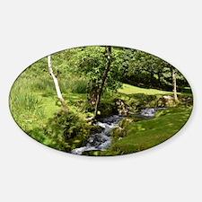 woodland Sticker (Oval)