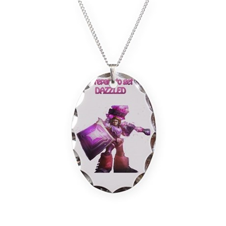 Taric Boxers Necklace Oval Charm