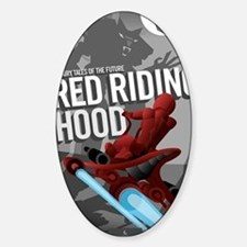 Little Red Riding Hood Sci Fi Decal