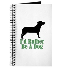 Rather Be A Dog Journal