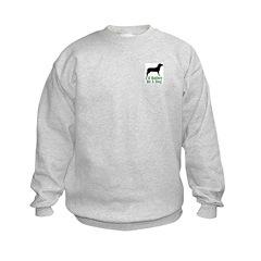 Rather Be A Dog Sweatshirt
