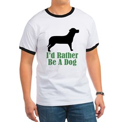 Rather Be A Dog T
