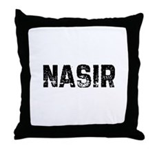 Nasir Throw Pillow