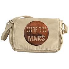 Off To Mars Messenger Bag