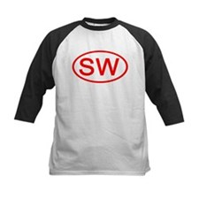 SW Oval (Red) Tee