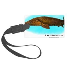 Lake Sturgeon Luggage Tag