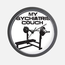 My psychiatrist couch Wall Clock