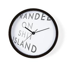 shitisland Wall Clock