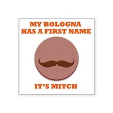 "My Bologna Square Sticker 3"" x 3"""