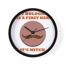 My Bologna Wall Clock