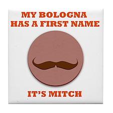 My Bologna Tile Coaster