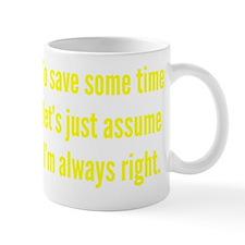 timeRight1C Mug