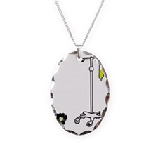 Thats how I roll Necklace Oval Charm
