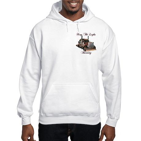Keep The Lights Burning Hooded Sweatshirt