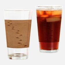 Sndy Feet Drinking Glass