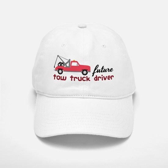 Future Tow Truck Driver Baseball Baseball Cap