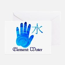 Water Element Greeting Cards (Pk of 10)