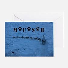 MUSH logo Greeting Card