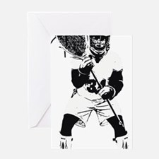 Lacrosse Goalie Behind Every Great T Greeting Card
