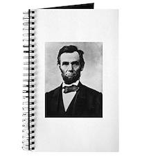 """President Lincoln """"Honest Abe"""" Journal"""