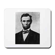 "President Lincoln ""Honest Abe"" Mousepad"