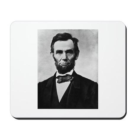 """President Lincoln """"Honest Abe"""" Mousepad"""